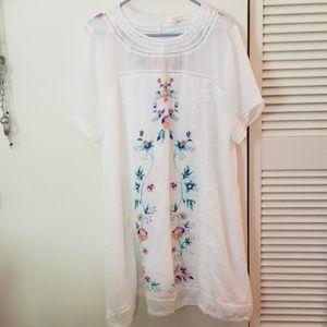 Boho Umgee floral  shift dress